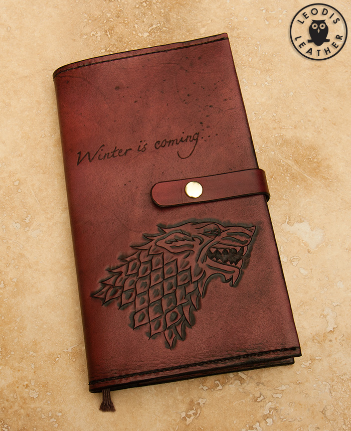 Leather Book Cover Ideas ~ Leather moleskine and midori notebook covers
