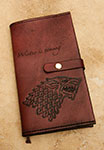 Leather Game of Thrones House Stark Moleskine Notebook Cover