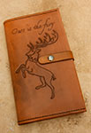 Leather Game of Thrones House Baratheon Moleskine Notebook Cover