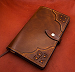 Leather Brogue Moleskine Notebook Cover
