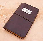 Leather Moleskine Cahier Journal Cover